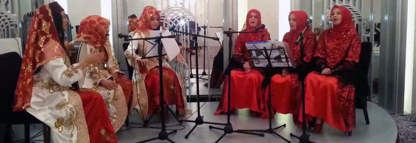 bayan tasavvuf müziği grubu