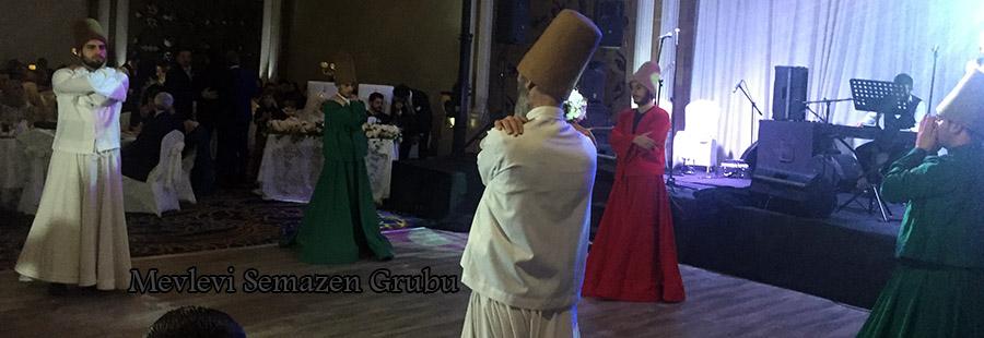 islami düğünler ve semazen ekipleri