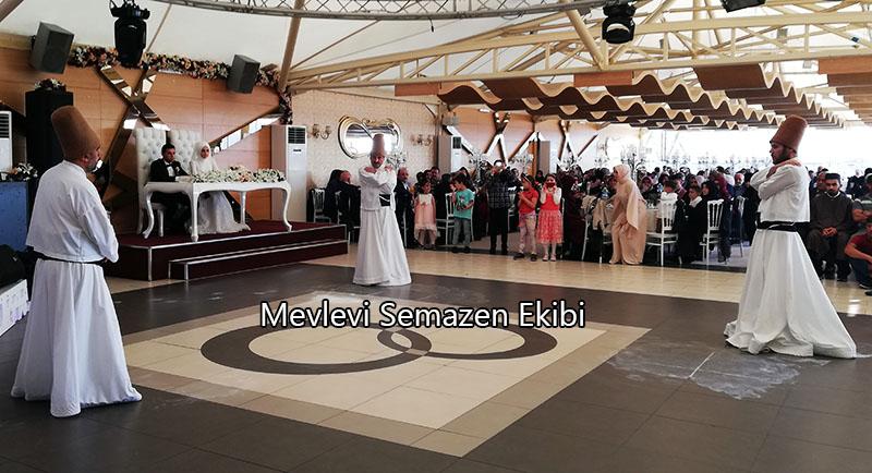 semazenli düğün merasimi