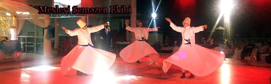 semazen ekibi ile islami sünnet düğünü
