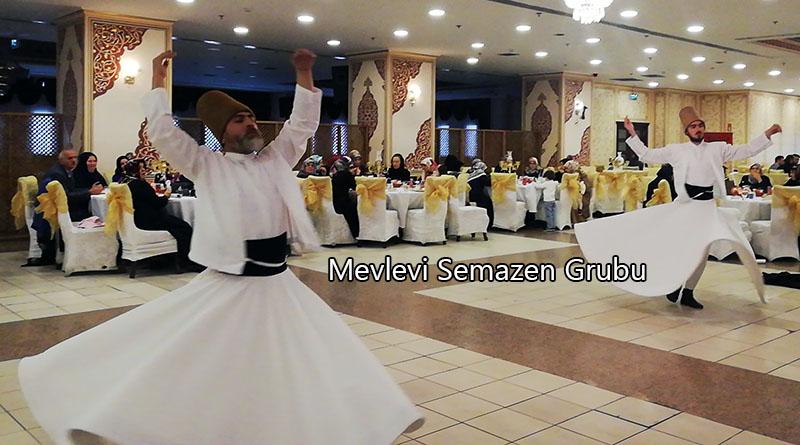 semazen ekibi gösterisi ramazan etkinliği