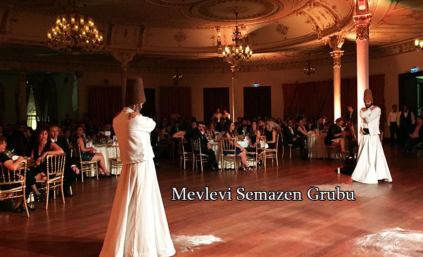 Semazen Grubu Gösterisi İstanbul