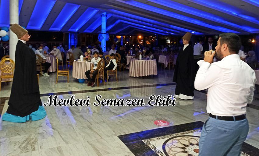 semazen grubu islami düğün